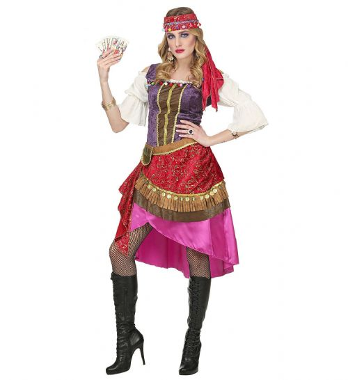 Ladies GIPSY Adult Costume Nationalities & Ethnicities Fancy Dress